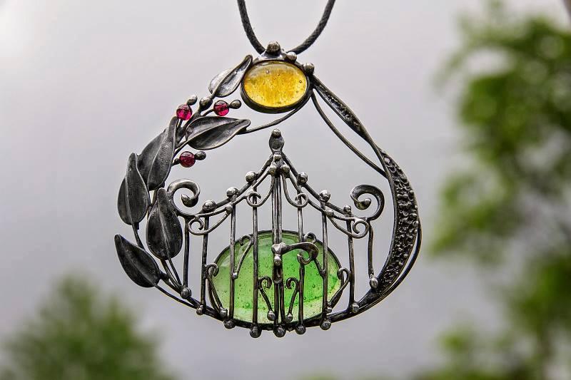 """Šperk """"Zahrada"""""""