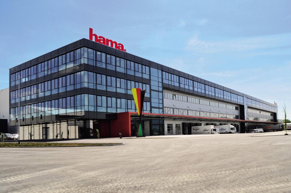 sídlo firmy Hama