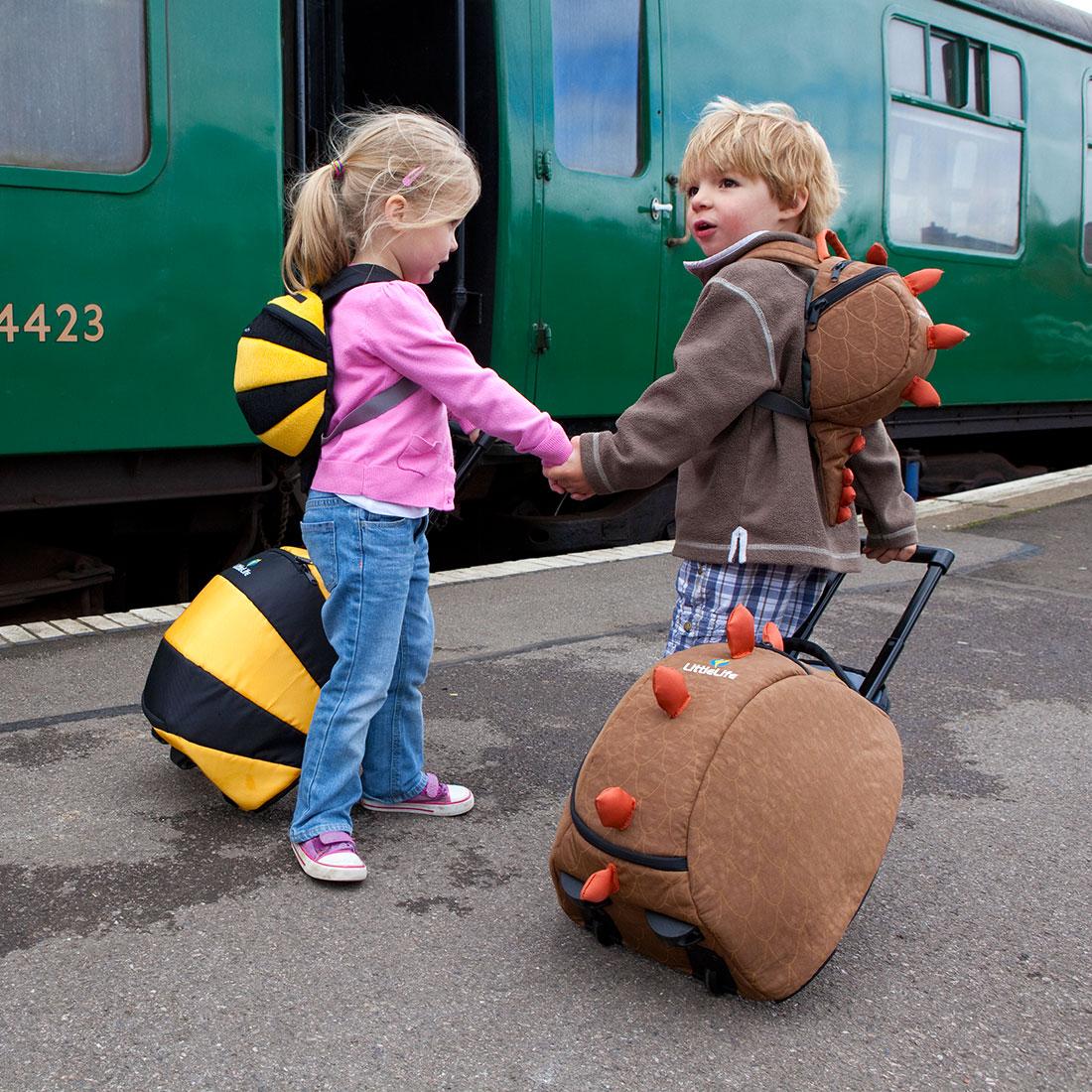 Cestování s dětmi a kufříky LittleLife