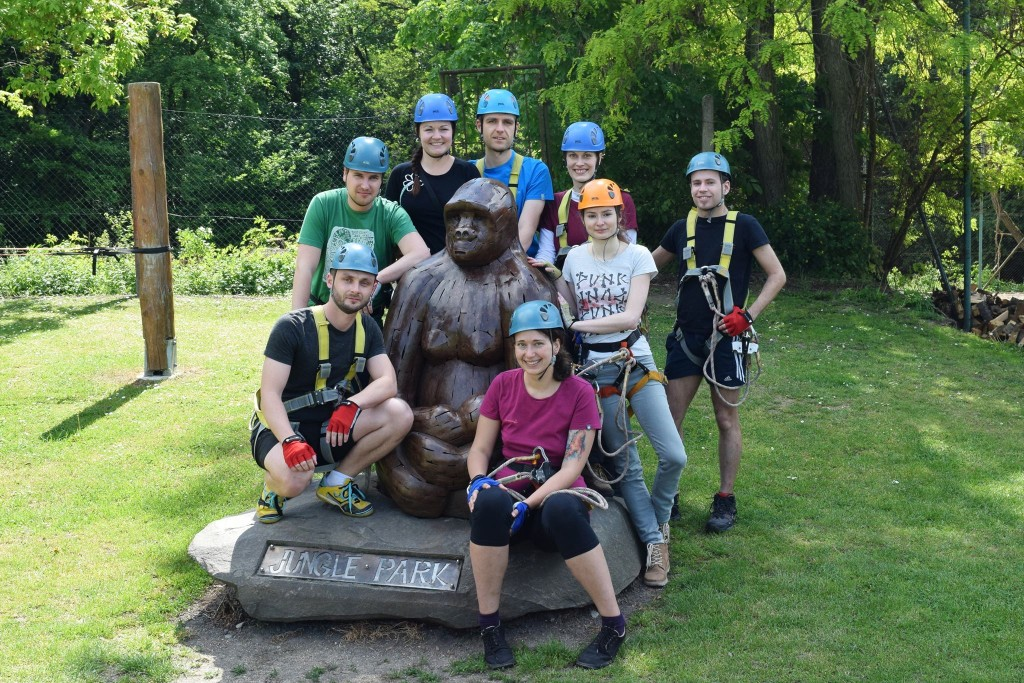 Teambuilding v jungleparku