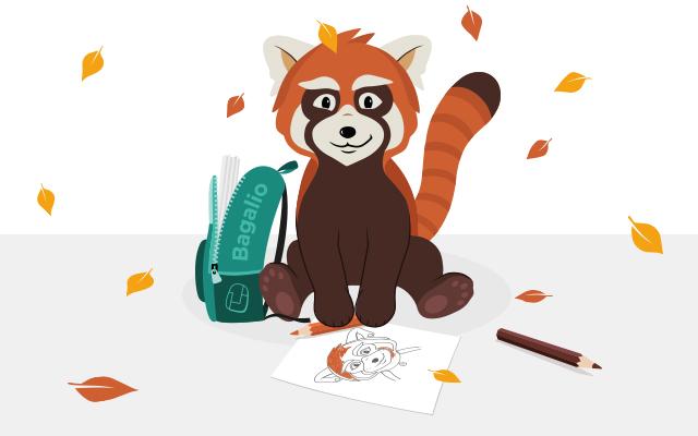 soutěž barevný podzim s pandou