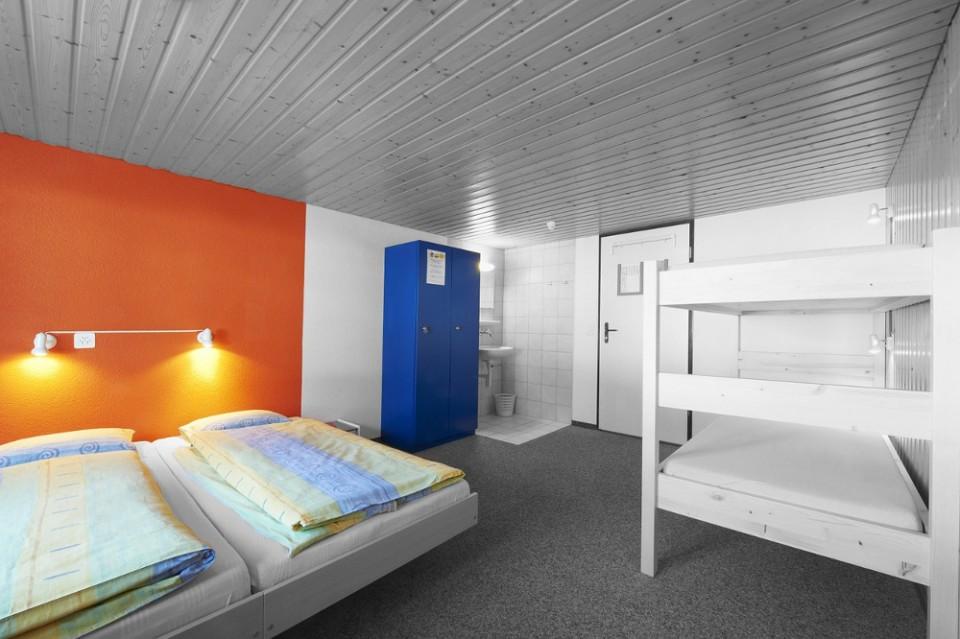 Sdílený pokoj v hostelu
