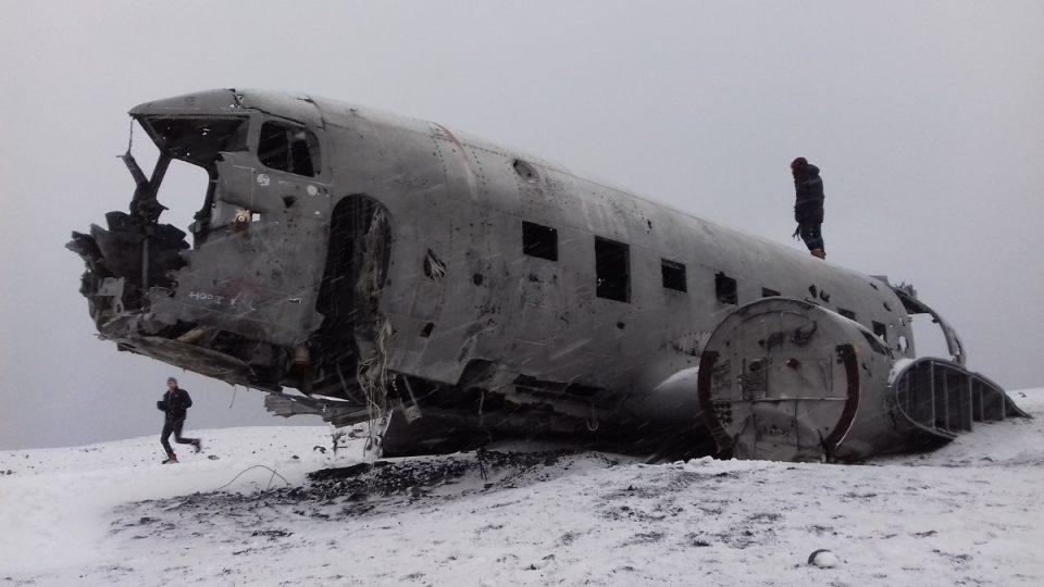 vrak Douglas Super DC-3 Dakota (Island)