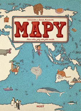kniha Mapy