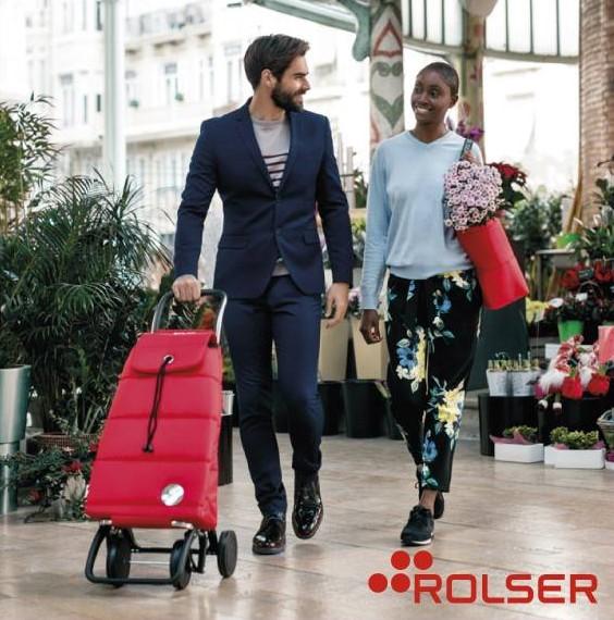 Nákupní tašky na kolečkách Rolser