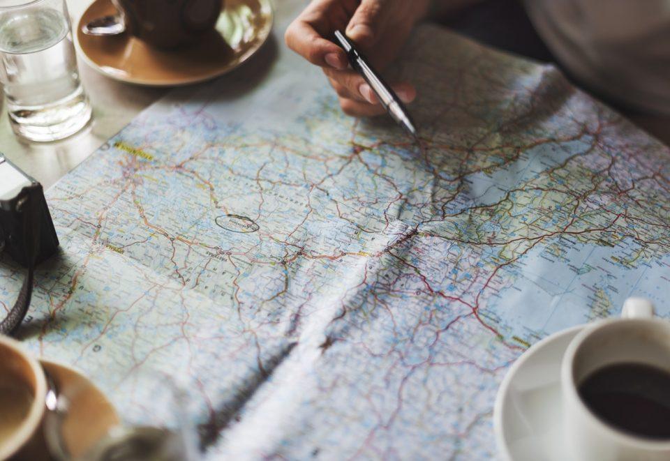 orientace na mapě