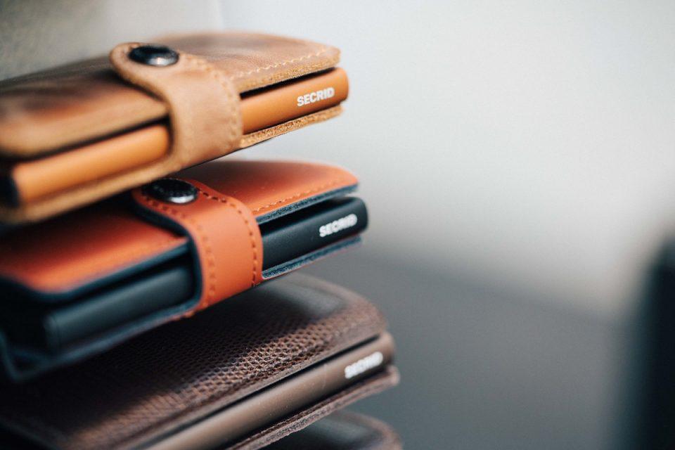 peněženky Secrid s ochranou karet