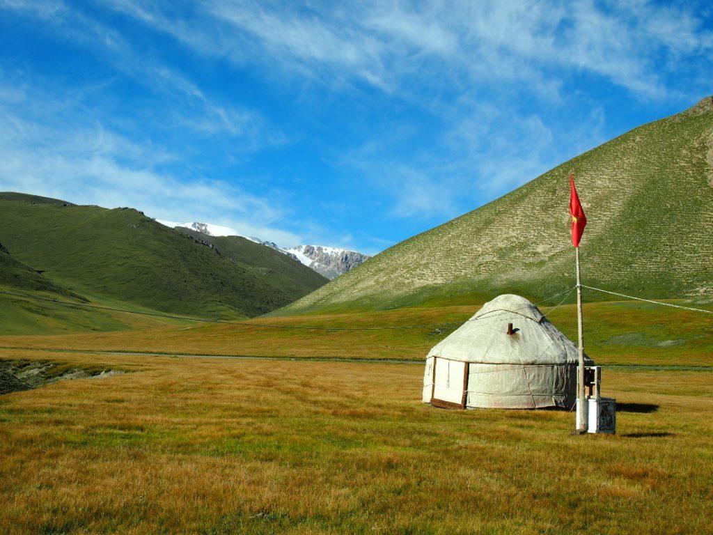 Kyrgyzstan - jurty