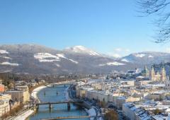 Salzburg je pro zimní dovolenou jako stvořený.