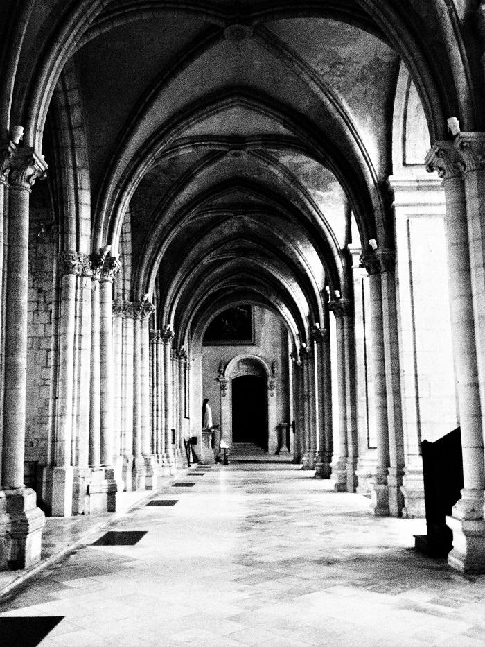 gotická chodba