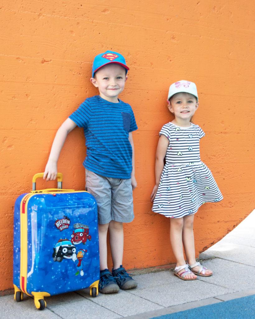 Dětský kufr Travelite Heroes of the city