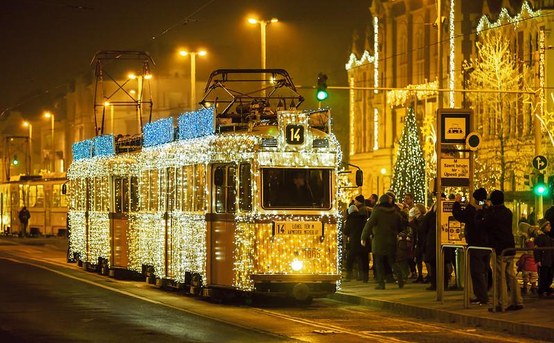 Maďarsko vánoční trhy