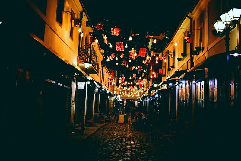 Vánoční trhy Tirana