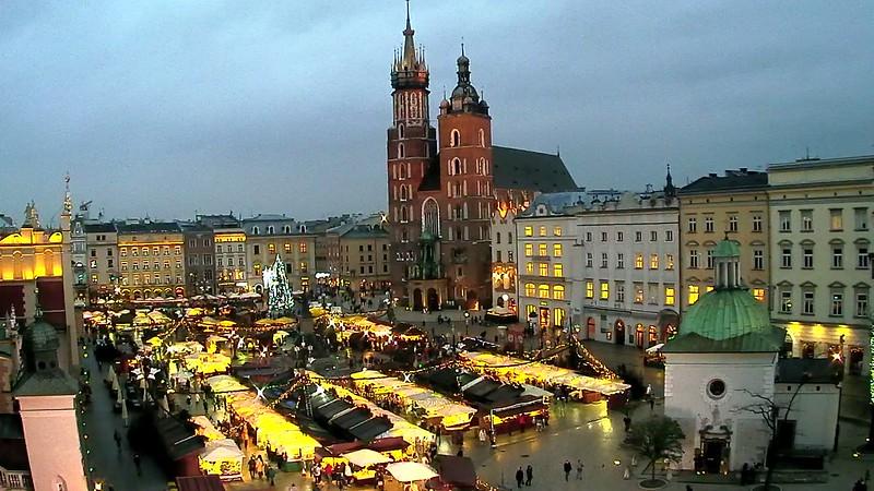 Vánoční trhy Krakov