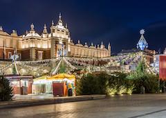 Vánoce v Krakově