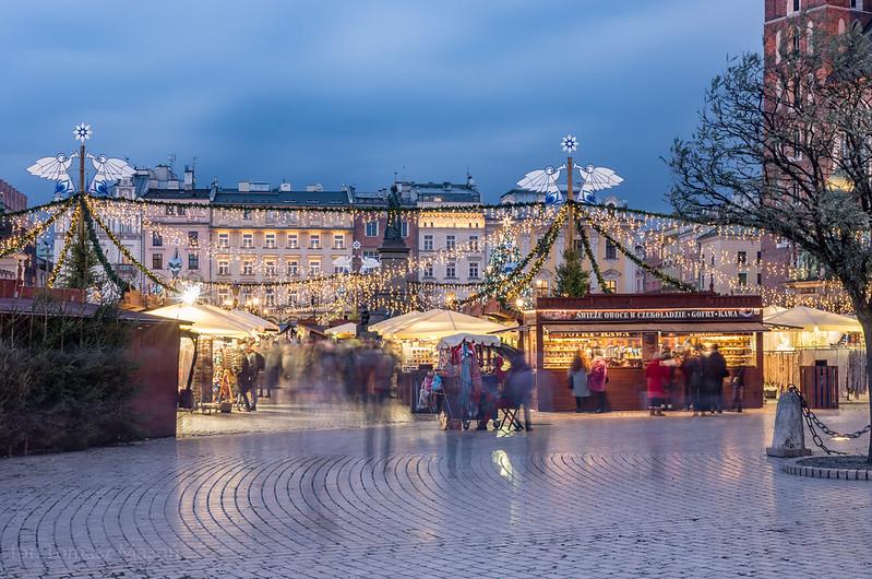 Vánoční trhy Rynek Glowny