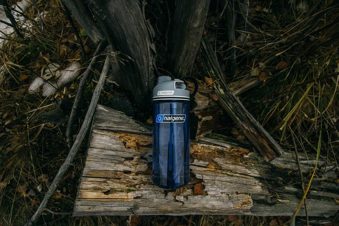 modrá tritanová láhev Nalgene Multidrink