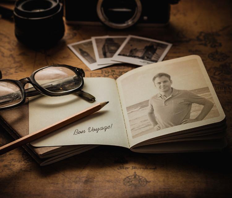 Cestovatelský deník a blog.