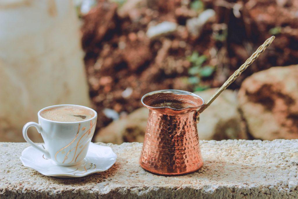 turecká káva z džezvy